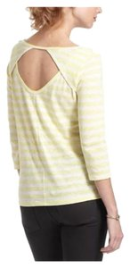 Anthropologie T Shirt Yellow