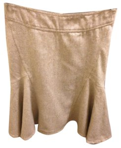 Necessary Objects Skirt Tan
