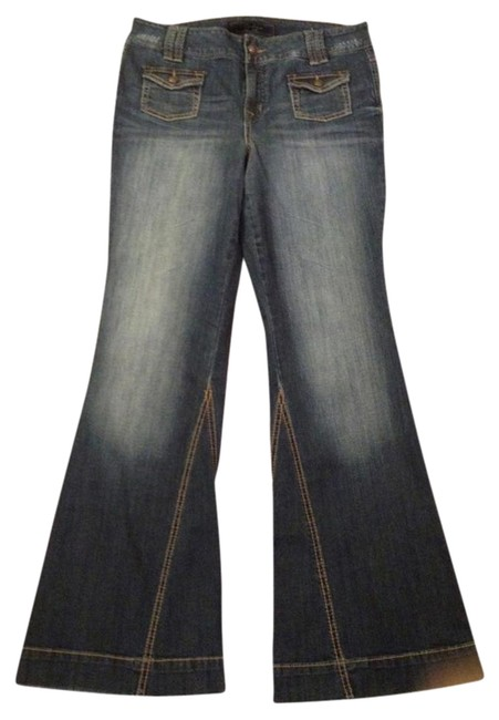 Jessica Simpson Boot Cut Jeans-Distressed
