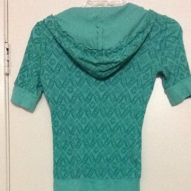 Crafty Couture T Shirt Turquoise Green