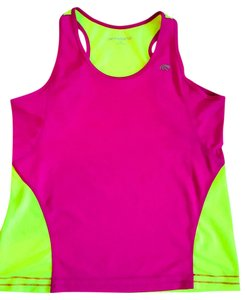 Marika Tek Running, Fitness, Racer Back, Neon, Tank Top