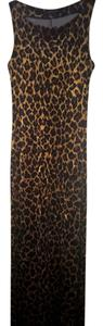 leopard animal print Maxi Dress by Betsey Johnson Maxi
