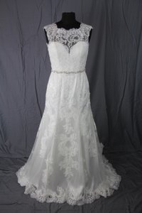 Jacquelin Exclusive 19972 Ivory Wedding Dress