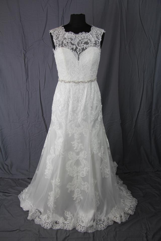 Jacquelin Exclusive 19972 Ivory Wedding Dress On Sale 59