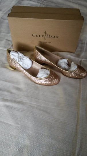 Cole Haan Gold Flats