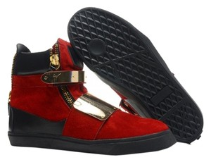 guiseppe red gold and black Athletic