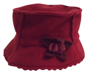 Anthropologie Red hat