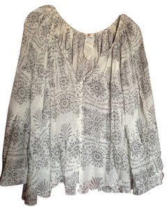 Free People Oversized Light Weight Top