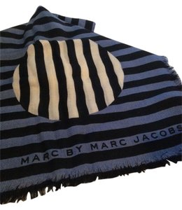 Marc by Marc Jacobs MARC BY MARC JACOBS NWT GRAPHIC CHARLES MULTI-COLORED STRIPED SCARF