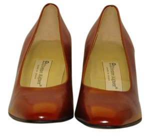 Etienne Aigner Three Inch Heel Raspberry Pumps