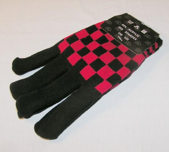 Unknown BOGO Free Checkboard Knit Gloves Free Shipping