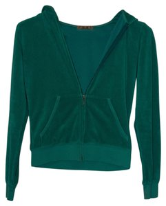 Juicy Couture Terry Zip-up Hooded J-pull Sweatshirt