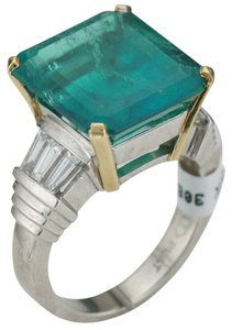 Stunning Colombian Emerald Ring