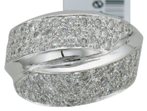 Wide Pave' Diamond Ring