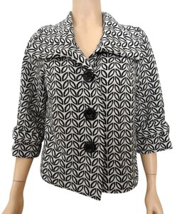 Saks Fifth Avenue Black & White Jacket