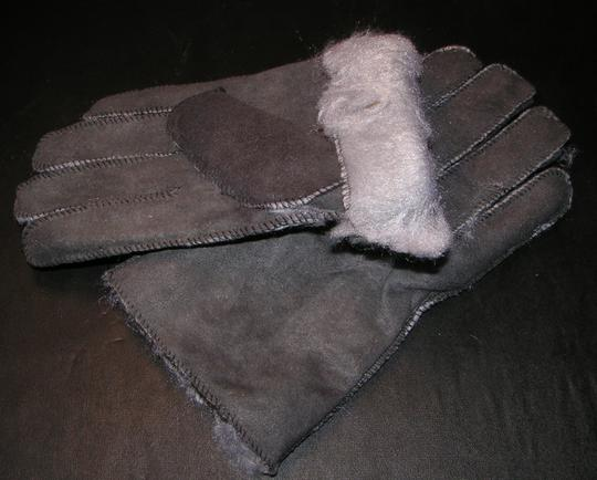 Unknown Unisex Suede Leather Lined Gloves Free Shipping
