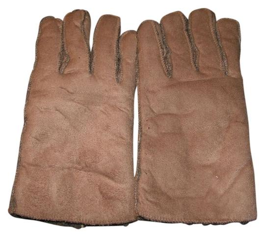 unknown BOGO Free Tan Suede Leather Unisex Lined Gloves Free Shipping