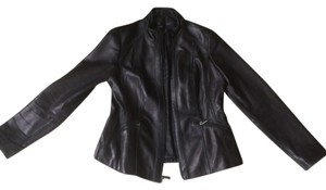 Avanti Burberry Brit Leather Motorcycle Jacket
