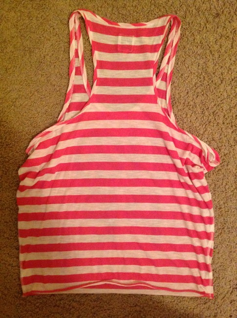 PINK by Victoria's Secret Top White pink and blue