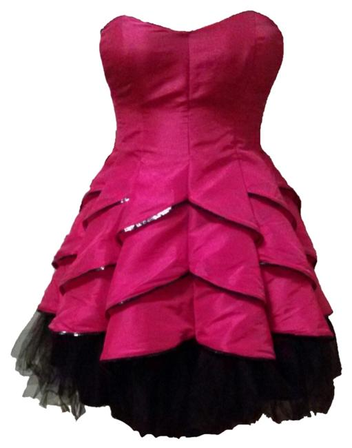 Preload https://item3.tradesy.com/images/betsey-johnson-pink-evening-dahlia-above-knee-formal-dress-size-12-l-6985237-0-1.jpg?width=400&height=650