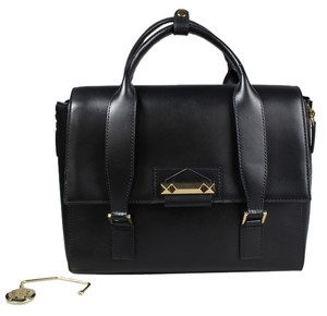 BCBGMAXAZRIA Satchel in Black