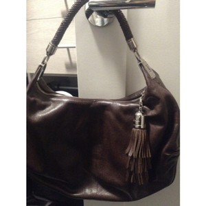 Cole Haan Pebbled Leather Collection Hobo Bag