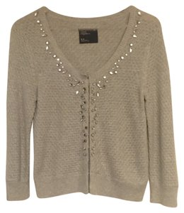 American Eagle Outfitters Career Crystal Beaded Rhinestone Sweater Cardigan