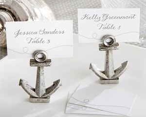 Kate Aspen Silver Reserved 126 Anchors Wedding Favors