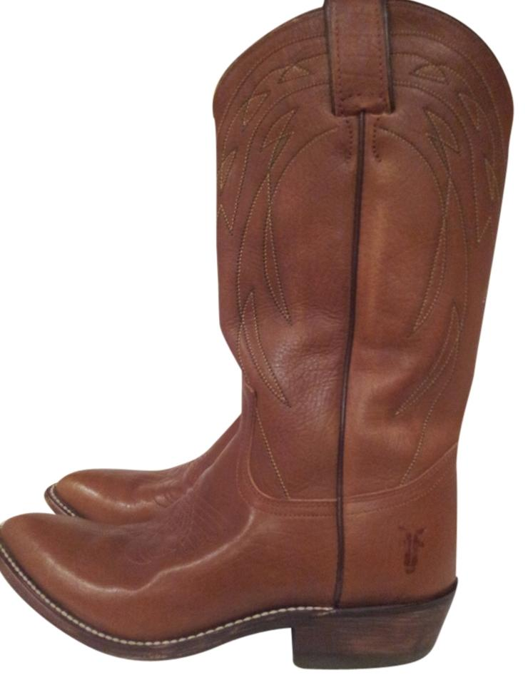 Frye Saddle Saddle Frye Brown Billy Vintage Boots/Booties 8bd3fe