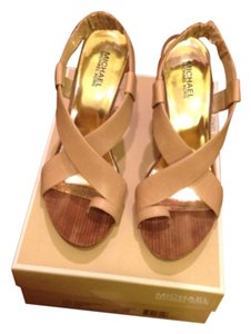 Michael Kors Natural Sandals