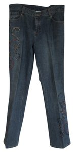 Chico's Vintage Boot Cut Jeans-Medium Wash