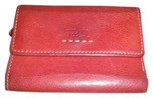 Fossil Fossil wallet RED Trifold