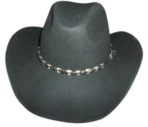 OutBack Trading Co. OutBack Trading Co, Black Cowboy Hat, Size Medium, 21 7/8