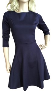 short dress Navy on Tradesy