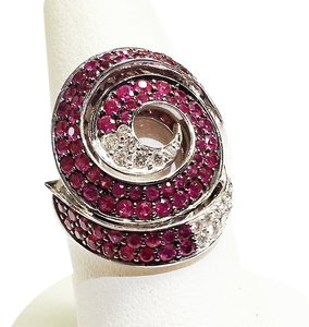 Roberto Coin ROBERTO COIN Ladies With Red Rubies and White Diamonds