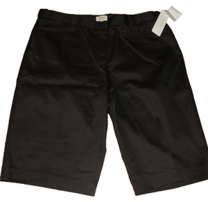 Laundry by Shelli Segal Bermuda Shorts Black