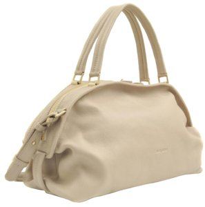 See by Chloé Satchel in Pebble (ivory)
