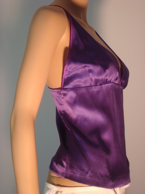 Cynthia Rowley Silk Camisole Size Medium Camisole Size 10 Camisole Top Purple