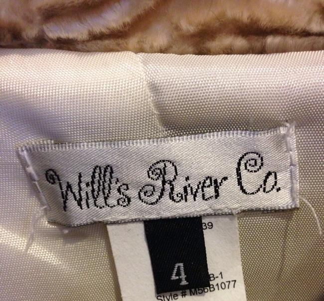 Wills's River Collection Formal Coat Soft Coat Beige / Taupe / Gold Blazer