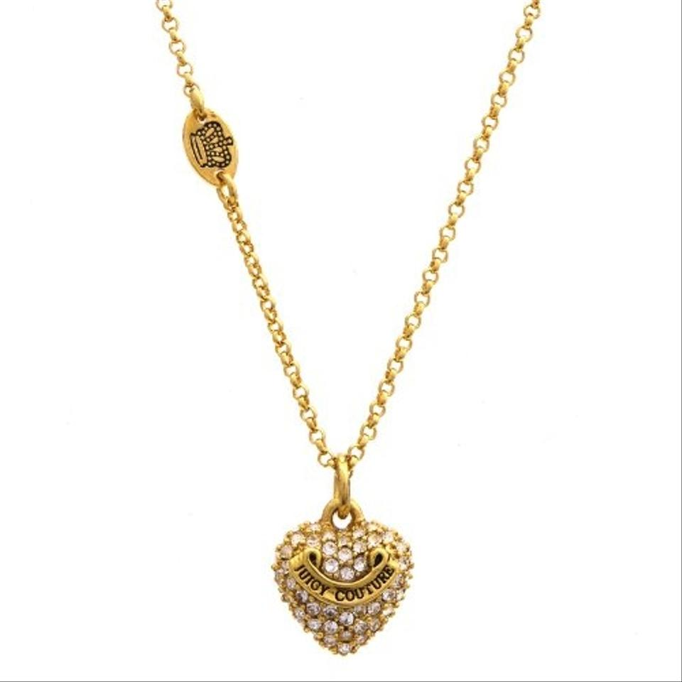 Juicy couture gold necklace 55 off juicy couture for Juicy couture jewelry necklace