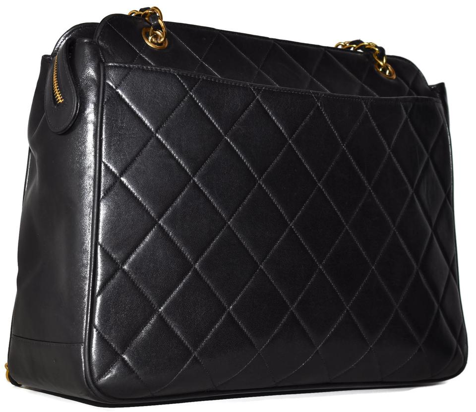 6d1839002d9d6f Chanel Paris Extra Large Jumbo Size Quilted Lambskin 14