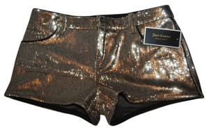 Juicy Couture Mini/Short Shorts gold