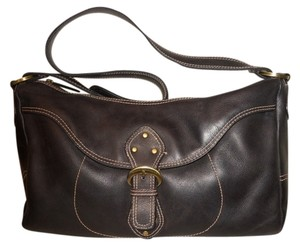 Stone Mountain Accessories Leather Studded Shoulder Bag