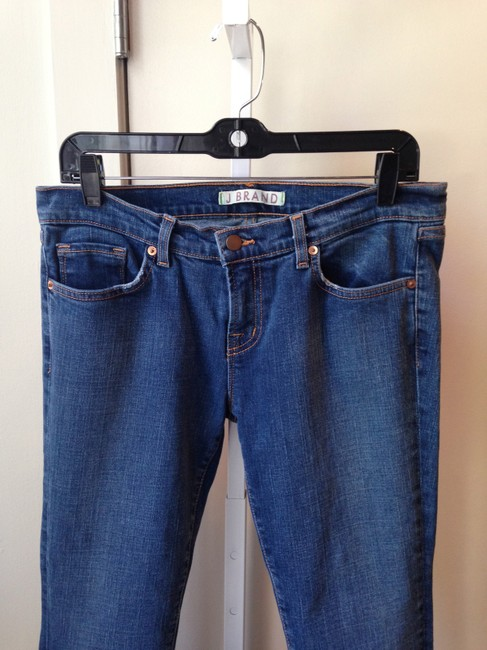J Brand Indigo Jeans Straight Pants denim