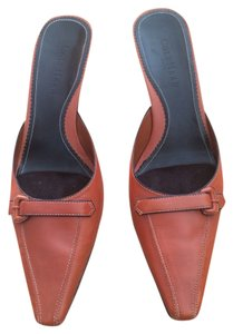 Cole Haan British tan Mules
