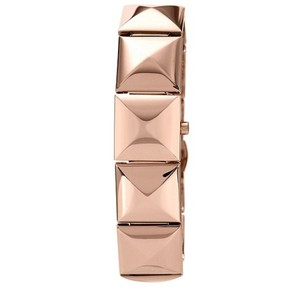 Vince Camuto Priced reduced until 10% for a limited time..Rose Gold-Tone Pyramid Covered Link Bracelet