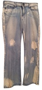 Guess Boot Cut Jeans-Distressed