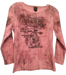 Suzie In The City T Shirt Pink