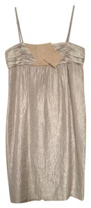 BCBGirls Gold Spaghetti Strap Dress