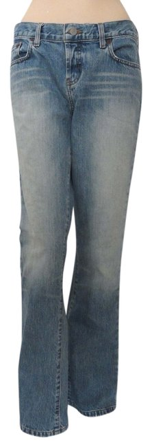 Item - Blue 4 Light Wash Bootcut Relaxed Fit Jeans Size 27 (4, S)
